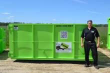15 Cubic Yard Dumpster